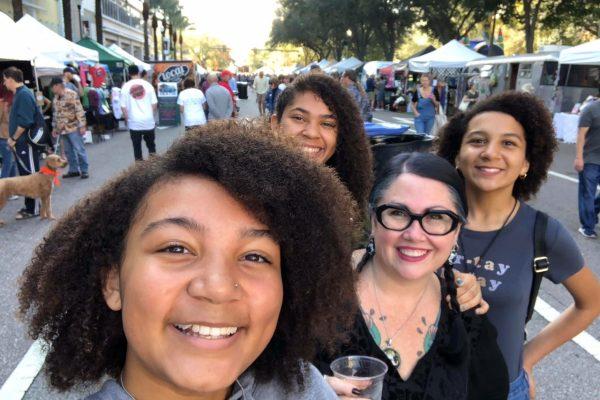 Localtopia 2019 3rd St pic w family